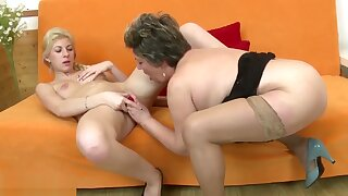 Taboo old and young lesbian home stories