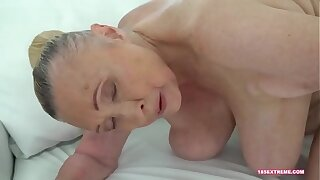 Horny Granny Wants a Hard Cock