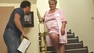 Sexy and perfect grandmas's porno