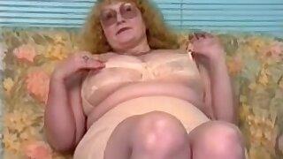 Retro Blond Granny #1
