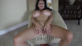 Incredible unhaved old female performing in incredible masturantion