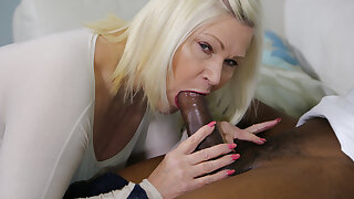 LACEYSTARR - Granny Analised By Big Black Cock