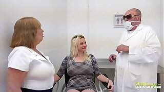 OldNannY Dental Clinic Pussy Licking Adventure