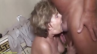 79 years old mom brutal anal fucked with stepson