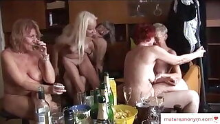 Grandma Orgy - GILFs Love Cocks Of All Ages
