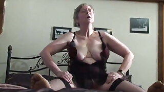UK Granny Kim Gets Analized by BBC