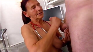 Cumming on nurses, compilation