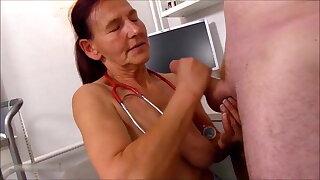Cumming on nurses, compilation