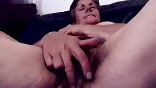 Granny Has a Very Hairy Pussy