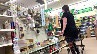 White bbw granny, sexy bending over, booty teasing 1, granny waiting