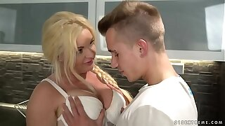 Busty older woman loves young dick - Franny, Oliver