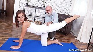 Old-n-Young.com - Mina - Old dick seduction