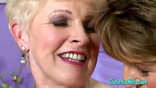 Clitorissa's tribute to lesbian grannies