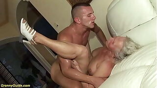 ugly 77 years old mom rough fucked