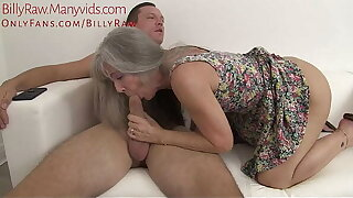 Grandmother Catches Grandson Watching Porn-Leilani Lei